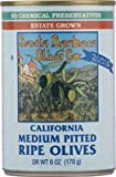 SANTA BARBARA OLIVE BLK CANNED MEDIUM, 6 OZ