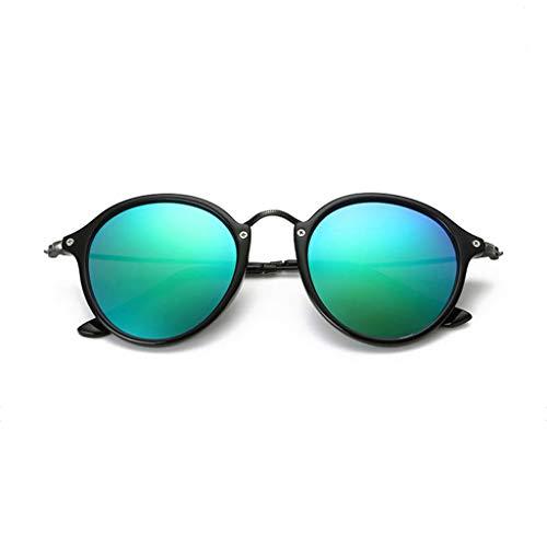 Aviador Redondo Nuevas polarizadas sol para Espejo UV de de Gafas conducción B Hombres Running Vogue qwCg1O