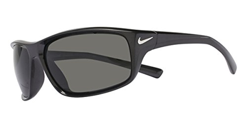 Nike Golf Adrenaline Sunglasses, Mercury Grey/Silver Frame, Grey - Sunglasses Nike Retro