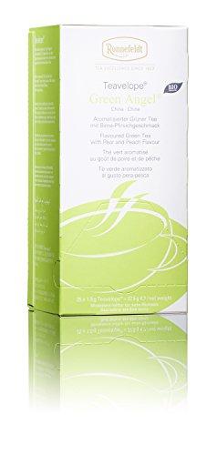 Ronnefeldt Teavelope BIO Green Angel, 25 Beutel aromatisierter Grüntee, 37,5 g