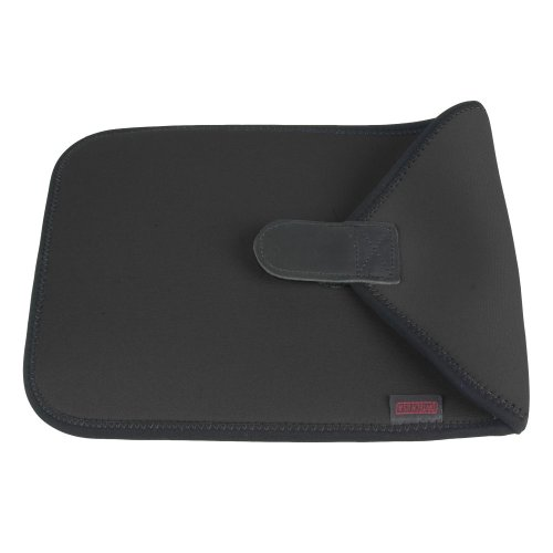 OP/TECH USA 4901102 10-Inch Neoprene Protective Pouch Computer Sleeve with Full-Flap Closure (Black) - Neoprene Kindle Dx Sleeve