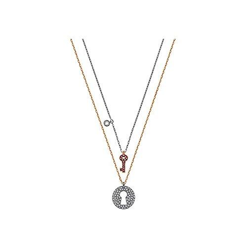 e94e5fb5cb9 Swarovski Crystal Wishes Key Pendant Set - Pink - 5272240 available ...