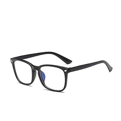 TYJYY Gafas de Sol Lente Transparente Marco De Cristal Anti ...