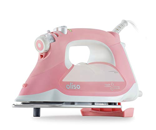 Oliso TG1600 Smart Iron with iTouch Technology, 1800 Watts, Pink