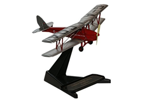 Oxford Diecast De Havilland Flying Club Tiger Moth GACDA