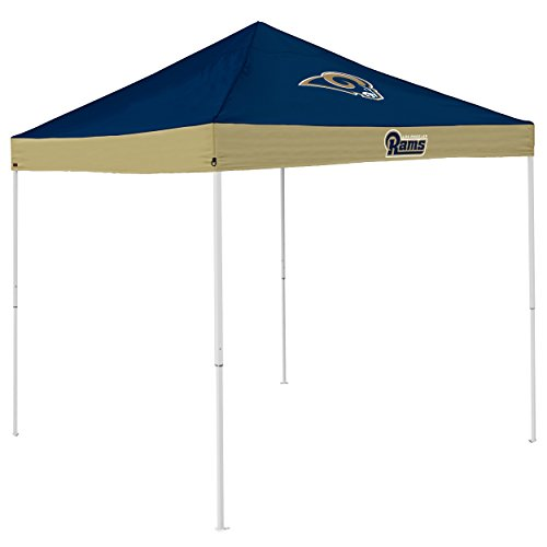 Logo Brands NFL St. Louis Rams Economy Tent Economy Tent, Navy, One (Raiders Canopy)