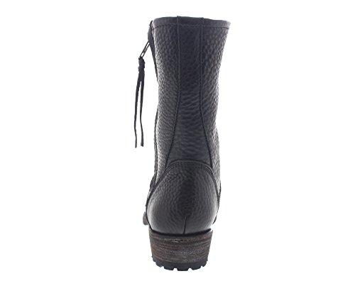Blackstone MARY EW74 - Botines fashion de cuero para mujer Schwarz (Black)