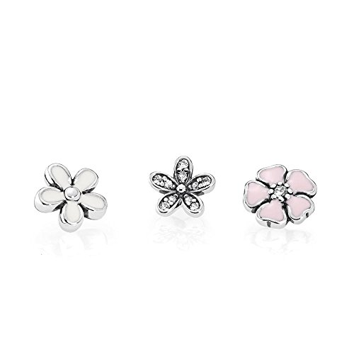 Pandora Women's Poetic Blooms Petites Locket Inserts