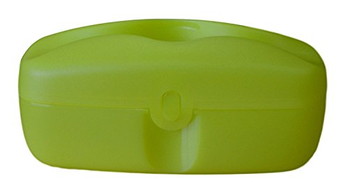 Tupperware Plastic Hot Dog Keeper Container