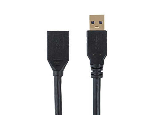 Monoprice Select Series USB 3.0 A to A Female Extension Cable, 6' (113751) by Monoprice