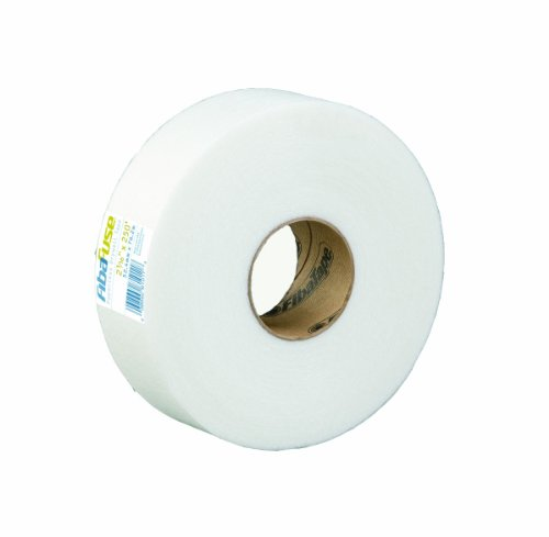 Fibatape Drywall - FibaFuse  FDW8234-U 2-1/16-Inch by 75-Feet Paperless Drywall Tape, White