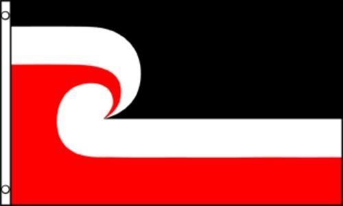 ALBATROS 2 ft x 3 ft Maori Flag 2x3 House Banner Brass Grommets for Home and Parades, Official Party, All Weather Indoors Outdoors