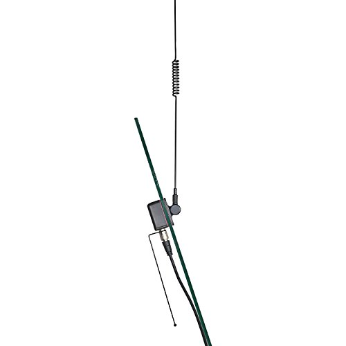 TRAM(R) 1192 Pre-Tuned 150-154 VHF / 450-470 MHz UHF Dual-Band Land Mobile Glass Mount Antenna, Black