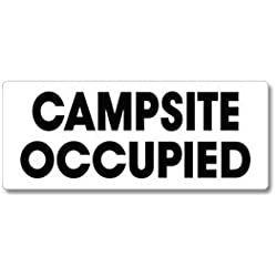 EverMark WHM-600-01 Campsite Occupied Clip-On Sign