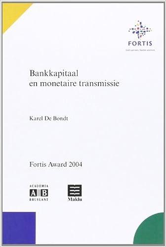 Téléchargement Bankkapitaal en Monétaire Transmissie pdf epub