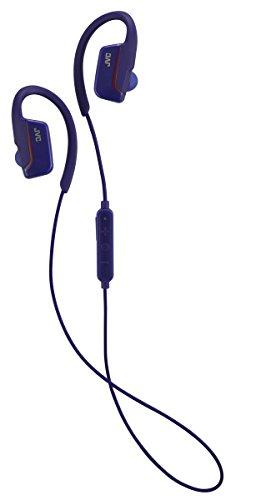 JVC HAEC30BTA AE Sport Headphones with Bluetooth Ear Clip - ()