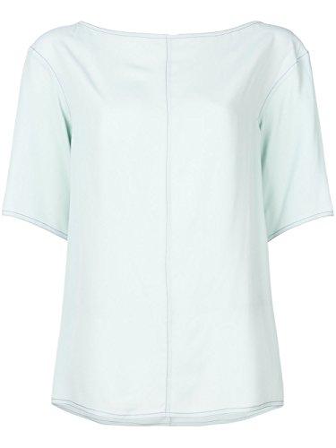 Marni Women's Camaw58a00ta08900v05 Light Blue Acetate T-Shirt Marni Women Dresses