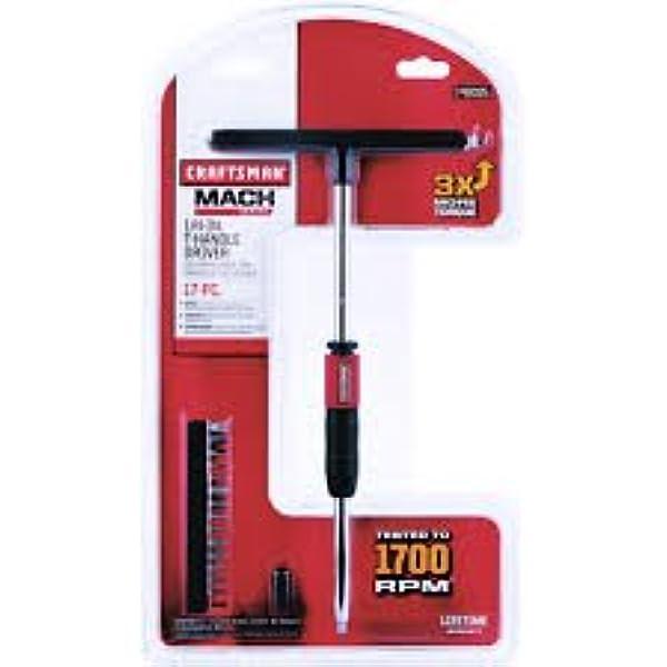"Craftsman MACH Series T-Handle Driver Bit Set 3//8/"" 14 pc tools"