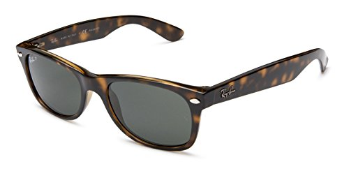 Ray Ban Wayfarer RB2132 902/58 Havana/ Crystal Green 52mm Polarized - 58 Rb2132 902