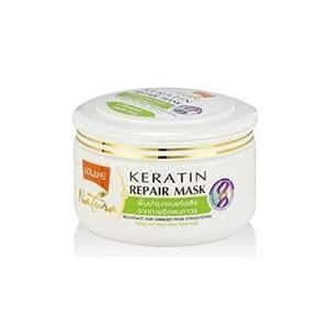Lolane Natura Keratin Repair Mark fro Damaged hair from hair Straightening Size 200g.., Thailand