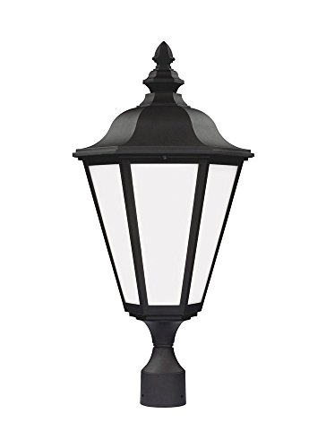 Sea Gull Lighting 89025EN3-12 Brentwood Outdoor Post Mount, 1-Light LED 9.5 Watts, (12 Brentwood 1 Light)