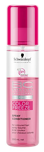 Schwarzkopf BC Color Freeze pH 4.5 Spray Conditioner (For Coloured Hair) 200ml/6.7oz -