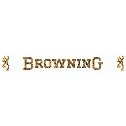 Browning Windshield Decal | White | 38