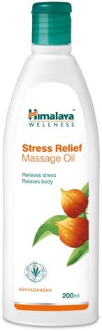 Himalaya Herbals Stress Relief Massage Oil, 200ml at Rs.75