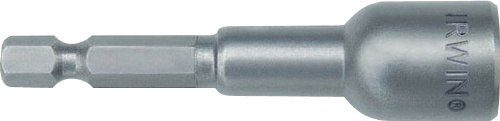 Irwin Tools 3051018 1/2-Inch Magnetic Nutsetter, 2 9/16-Inch Length, 3-Pack