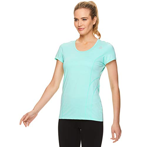 f53f78c6e185 Reebok Women's Dynamic Fitted Performance Short Sleeve T-Shirt: Amazon.ca:  Clothing & Accessories