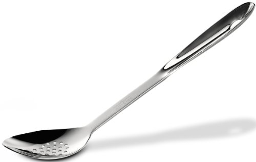 - All-Clad T101 Stainless Steel Slotted Spoon Kitchen Tool, 13-Inch, Silver