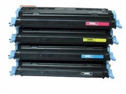 Hewlett Packard Color Laserjet 1600 - Ink Now Premium Compatible Combo Pack (all 4 colors) Toner for HP Color LaserJet 1600, 2600, 2600N, 2605, 2605DN, 2605DTN, CM1015MFP, CM1017MFP printers, OEM Part Number Q6000A, Q6001A, Q6003A, Q6002A Page Yield 8500