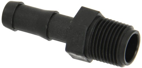 Banjo HB050 Polypropylene Hose Fitting, Adapter, 1/2