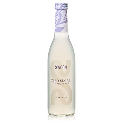 Swoon Zero Sugar Simple Syrup | Natural Liquid Sugar Substitute | Sweetness From Monk Fruit | Sugar-Free, Keto-Friendly, Zero Carbs
