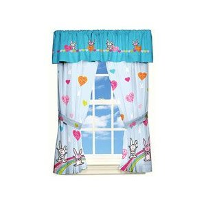 Happy Bunny Window Panels Drapes Review