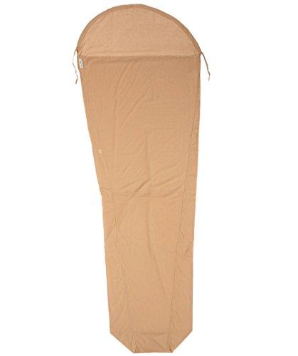 Cocoon Egipcio algodón MummyLiner Tuareg, Natural, 95