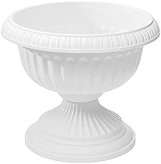 product image for Grecian Urn Planter, White, 18-Inch