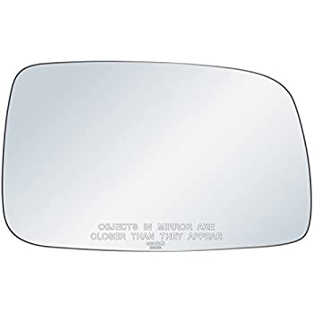 Wing door Mirror Glass Passenger side for Audi A3 Mk2 2003-2008 Heated