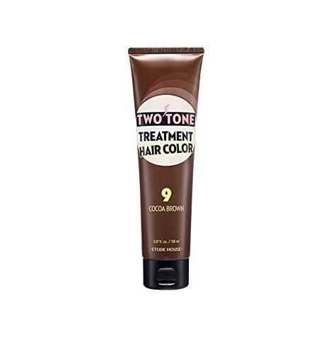 Etude House Two Tone Treatment Hair Color (150ml/5.07oz) Hair Dye New Color Available (#9)