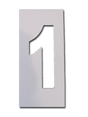 4 number stencils - 1
