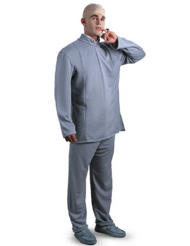 Double Occupancy Costume (Dr. Evil Adult Costume)