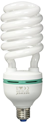 Neewer Tri-Color Tube 85 Watt 5500 K Fluorescent Daylight Balanced Full Spectrum Light Bulb for Photography and Video Lighting(85 Watt)