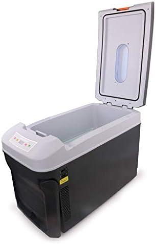 DIOE 車載用 冷蔵庫, 容量35リットル ポータブル 12V 24V 220V 兼用, 静音設計
