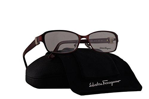 Salvatore Ferragamo SF2126RA Eyeglasses 53-17-135 Matte Bordeaux 617 SF 2126RA