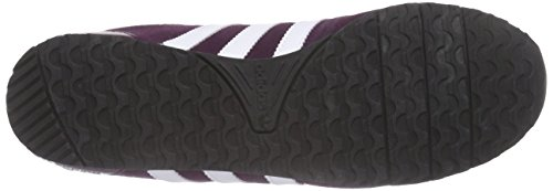 adidas Originals Damen ZX 700 Be Low Sneakers Violett (Merlot F15-St /Ftwr White/Merlot F15-St)