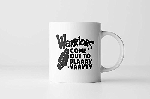LIZNICE - The Warriors Coffee Mug | Warriors Come Out To Play | Cult Movie Quote | Warriors Movie | Coffee Mugs With Sayings | Mens Gift| Movie Buff, MUG 15oz