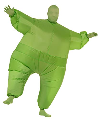 Rubie's Inflatable Full Body Suit Costume, Green, One Size
