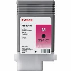 Canonamp;reg; - 3631B001 (PFI-104) Ink Tank, 130 mL, Magenta - Sold As 1 Each - Wide Color gamut with high-Density pigments. ()