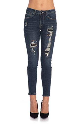 Jeans Yes Scuro Zee Denim Donna Blu pwHqOv