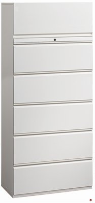 6 Drawer Trace Lateral File Storage Cabinet, 30
